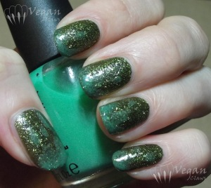China Glaze It's Alive, OPI Zom-body to Love