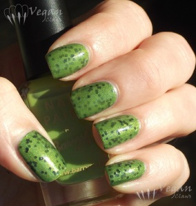Wet n Wild Jungle Fever and Tangled in My Web, with Barry M Lime