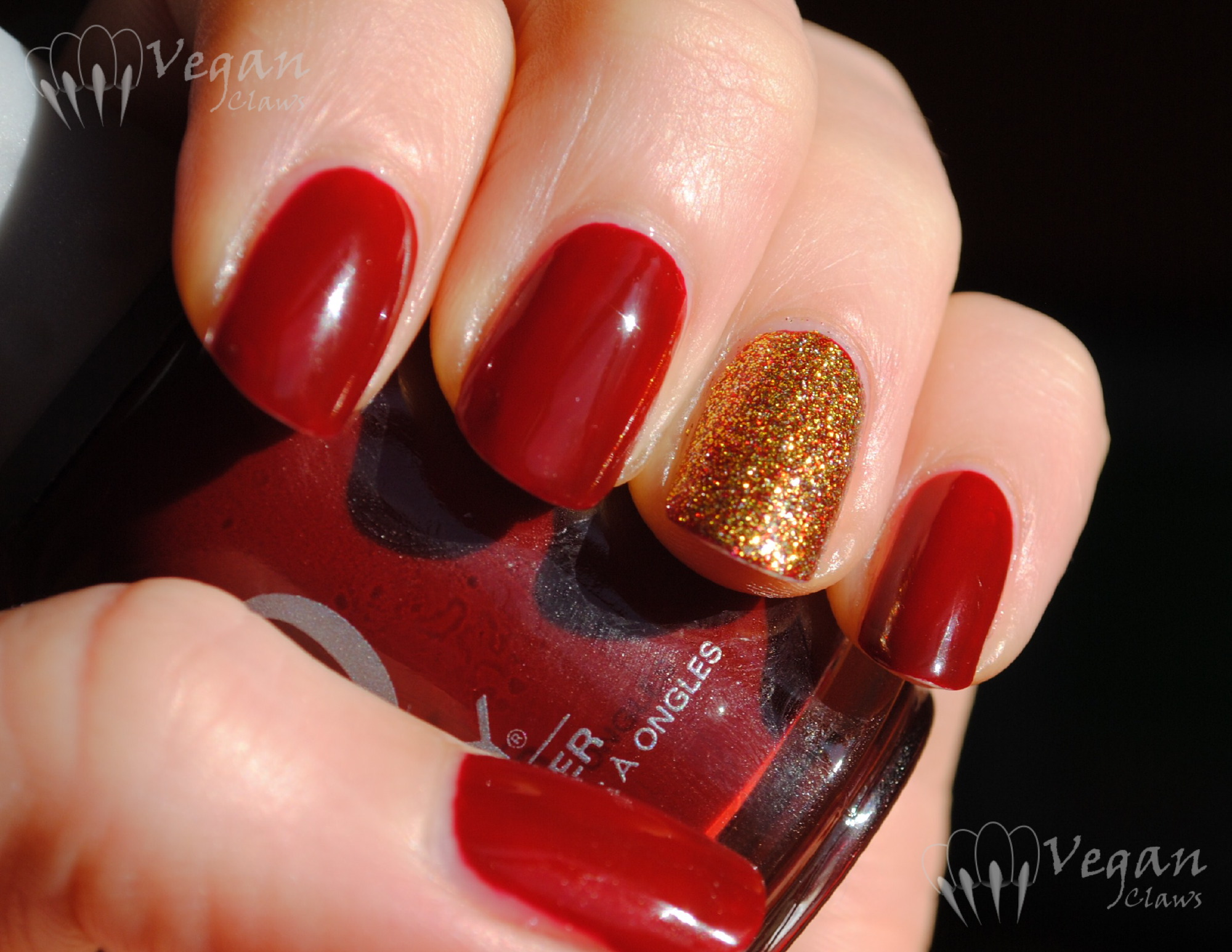 orly bus stop crimson | vegan claws