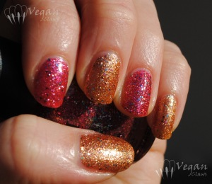 OPI Excuse Moi and Nicole by OPI Disco Dolls