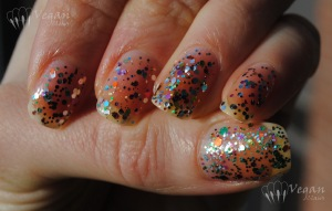 OPI Rainbow Connection, Soulstice LA, Essence Circus Confetti, NYX Girls Carnival, Wet n Wild Party of 5 Glitters