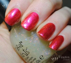 Nubar Pink Flame with Fingerpaints Asylum