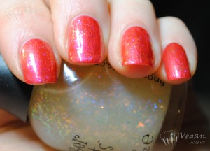 Nubar Pink Flame with Fingerpaints Asylum