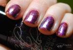 Nubar Pink Flame, Fingerpaints Asylum, Cult Nails Clairvoyant