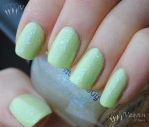 Fingerpaints Motley over Sally Girl Peabody