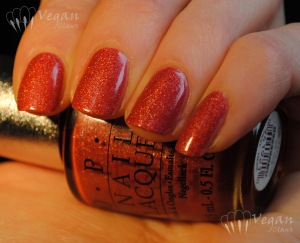 OPI DS Tapestry, artificial light