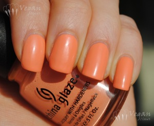 China Glaze Peachy Keen