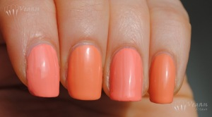 FingerPaints Circus Peanuts and China Glaze Peachy Keen
