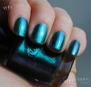 Color Club Metamorphosis and Nicole by OPI Iceberg Lotus
