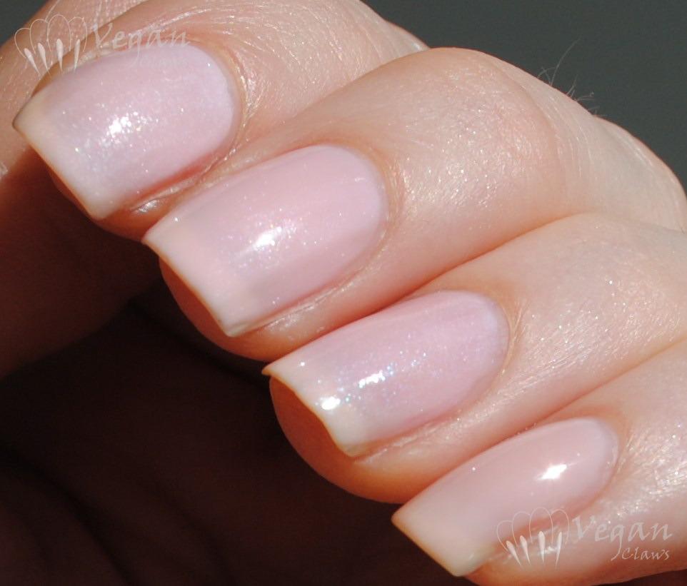 Sheer Pink Opi Nail Polish: Vegan Claws