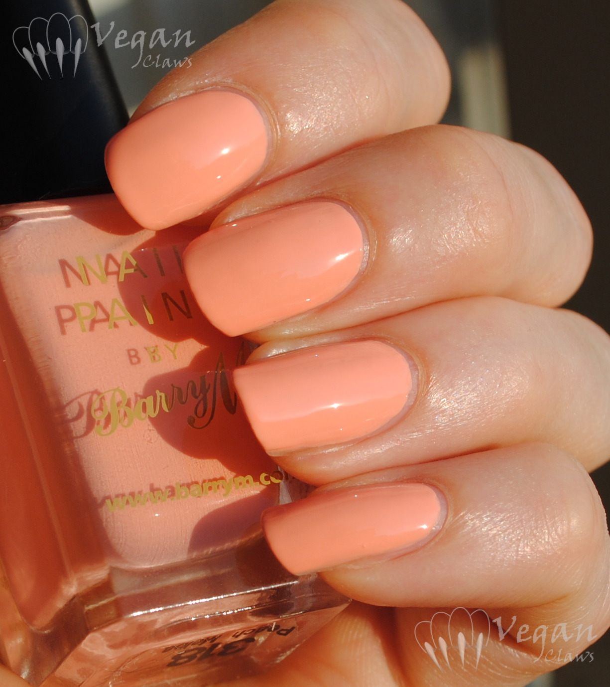 peach | Vegan Claws