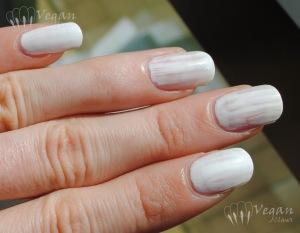 White creme comparison - 1 coat