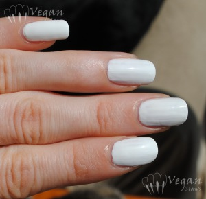 White creme comparison - 2 coats