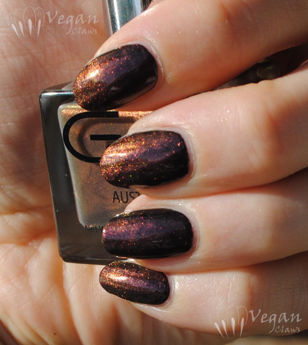 Glitter Gal Buckled Bronze | Vegan Claws