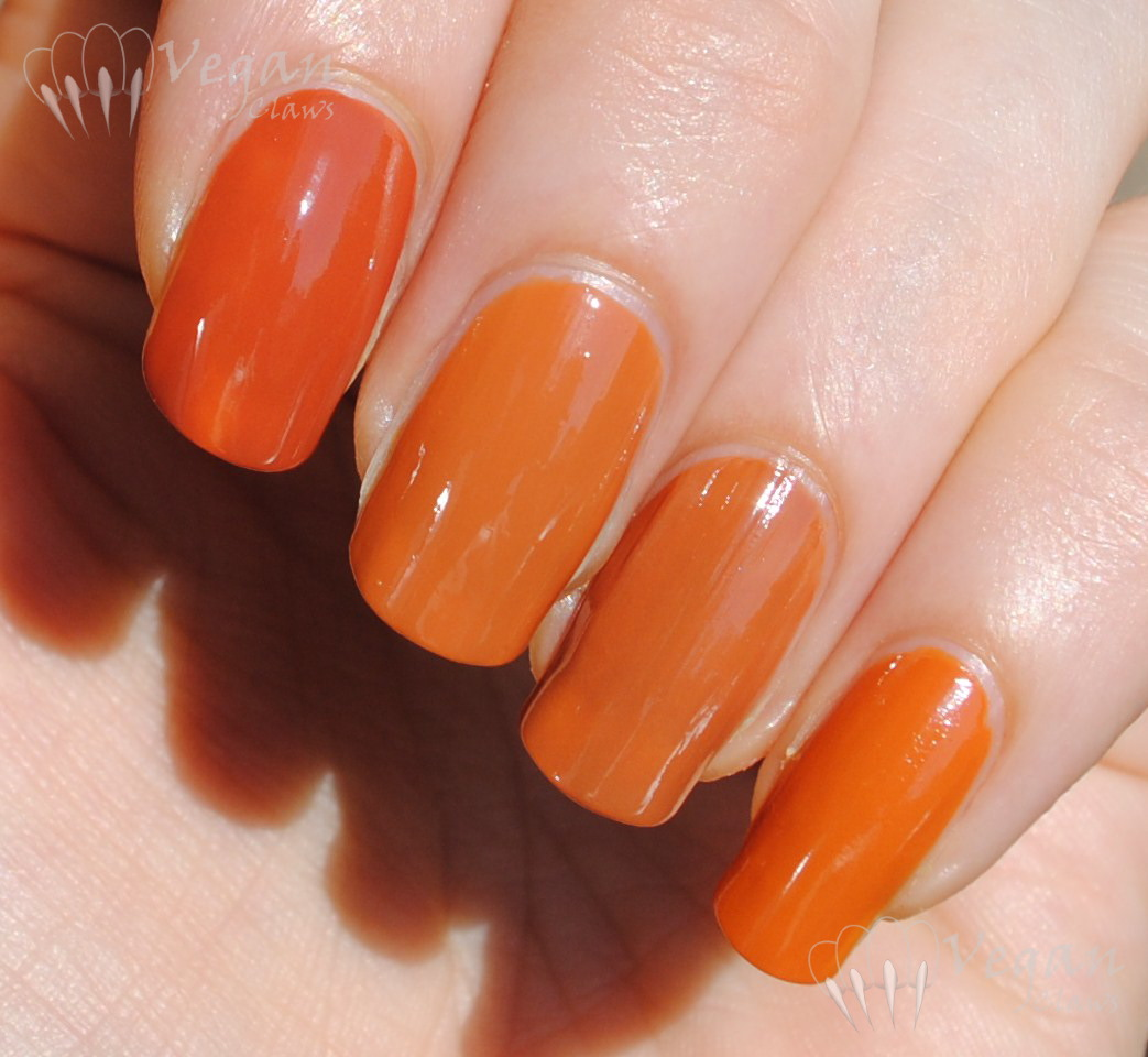 China Glaze Desert Sun and Comparisons | Vegan Claws
