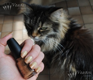 China Glaze Kalahari Kiss and I Herd That with Azrael