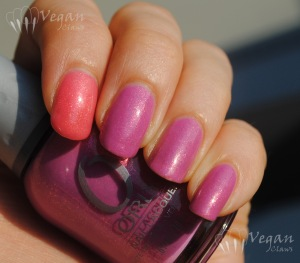 Orly Preamp with Milani Hot Pink accent