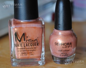 Misa Taking Chances and Sephora by OPI It's all About the Fringe