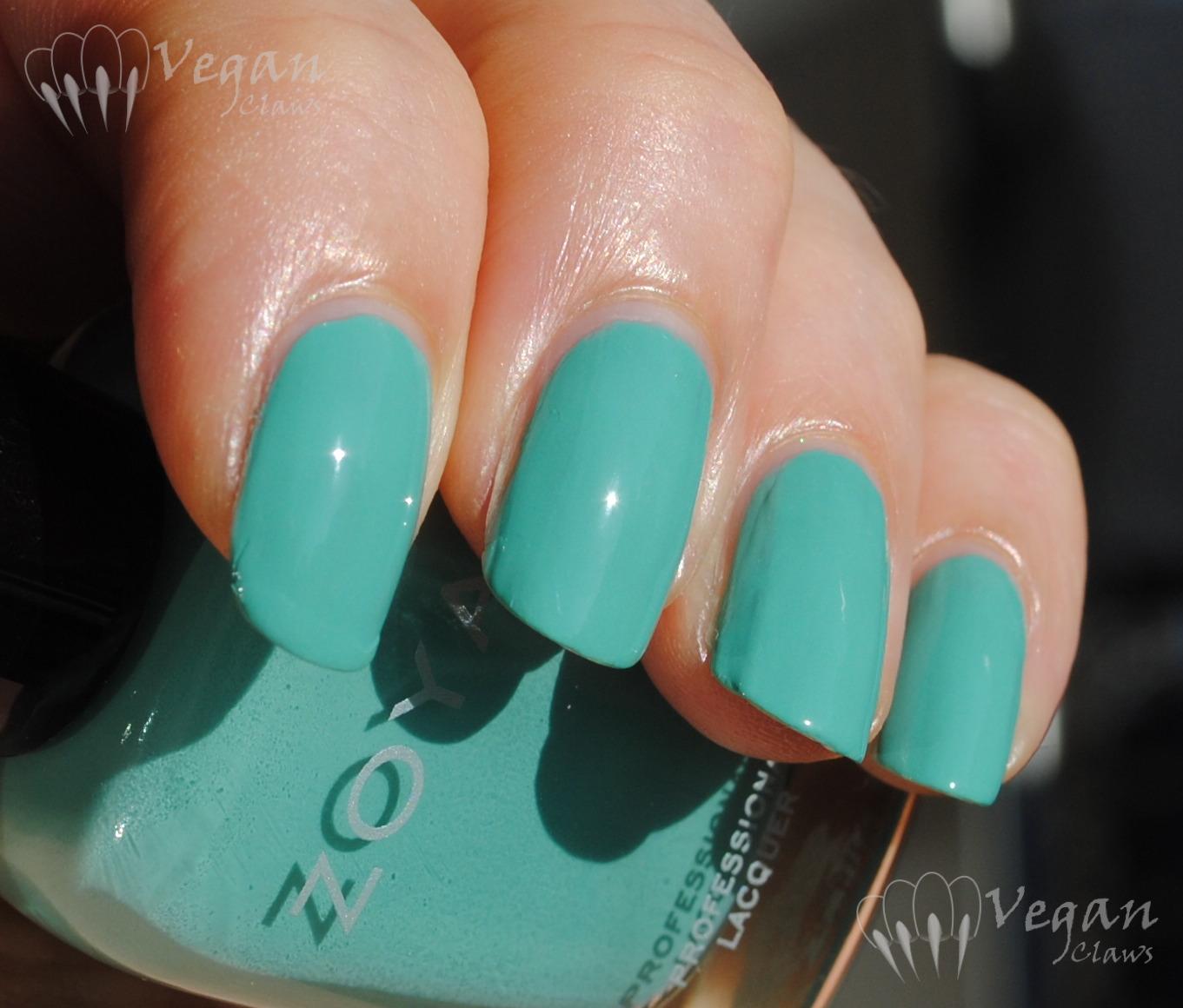 Nail Polish Color Tiffany Blue