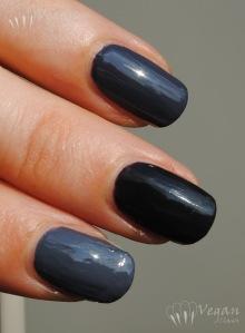 Cult Nails Blackout, Kleancolor Black, Kleancolor Concrete