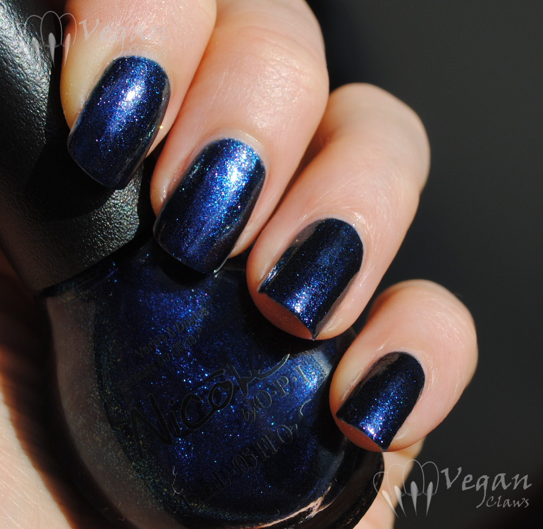 Nicole by OPI If the Blue Fits | Vegan Claws