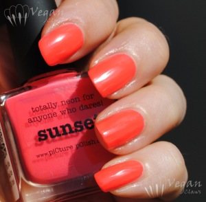 Picture Polish Sunset