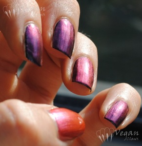 Orly Synchro over black and pink (thumb)