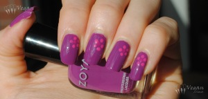 Zoya Kieko with dots in Reagan and Lara