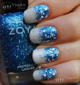 Orly Au Champagne and Zoya Twila
