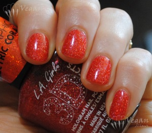 LA Girl Electric Coral - Ott Lite