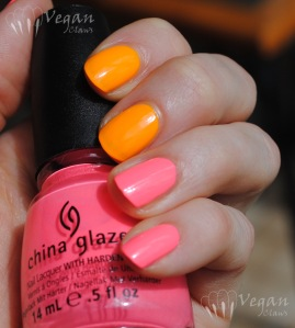 China Glaze Flip Flop Fantasy and Sun Worshipper