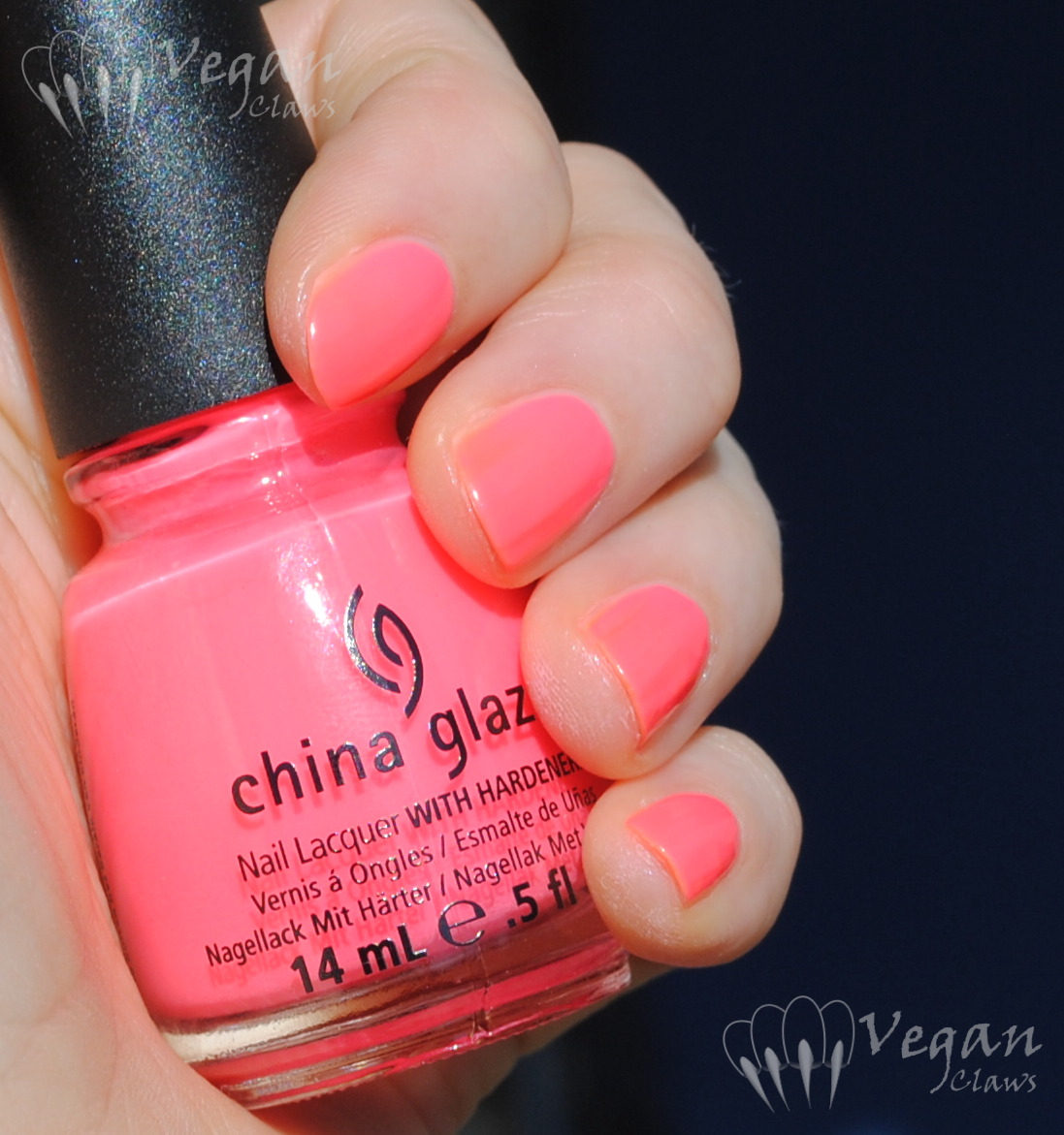 China Glaze Neon & On & On, Shell-o, and neon pink comparisons ...