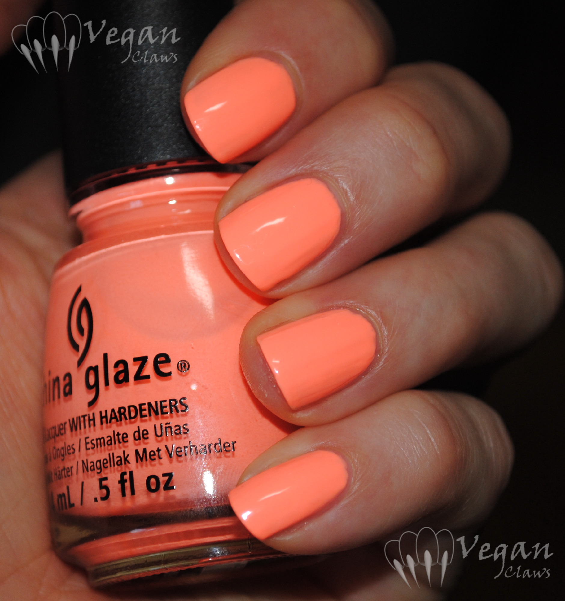 China Glaze Sun of a Peach and comparisons | Vegan Claws
