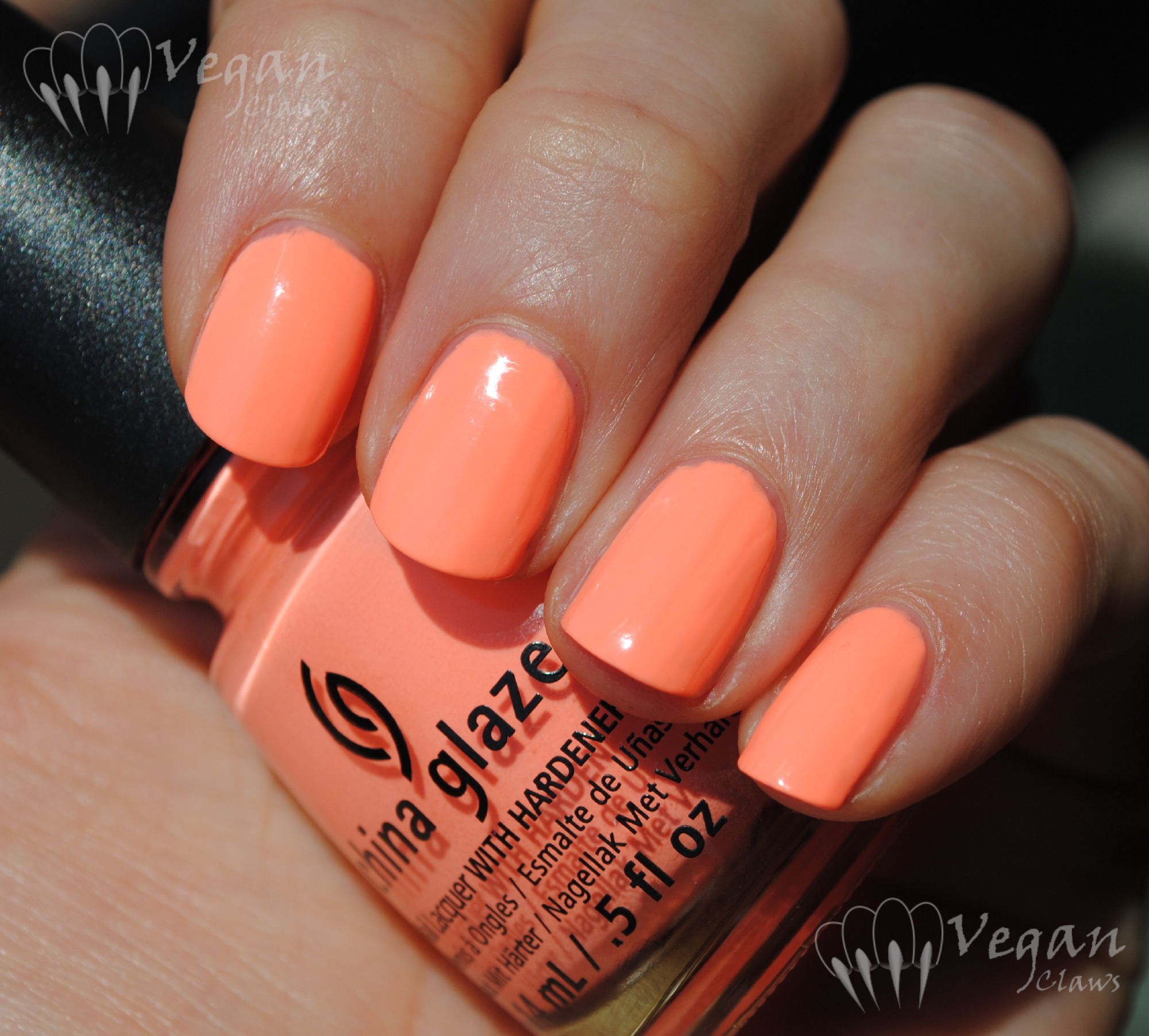 China Glaze Sun Of A Peach And Comparisons Vegan Claws