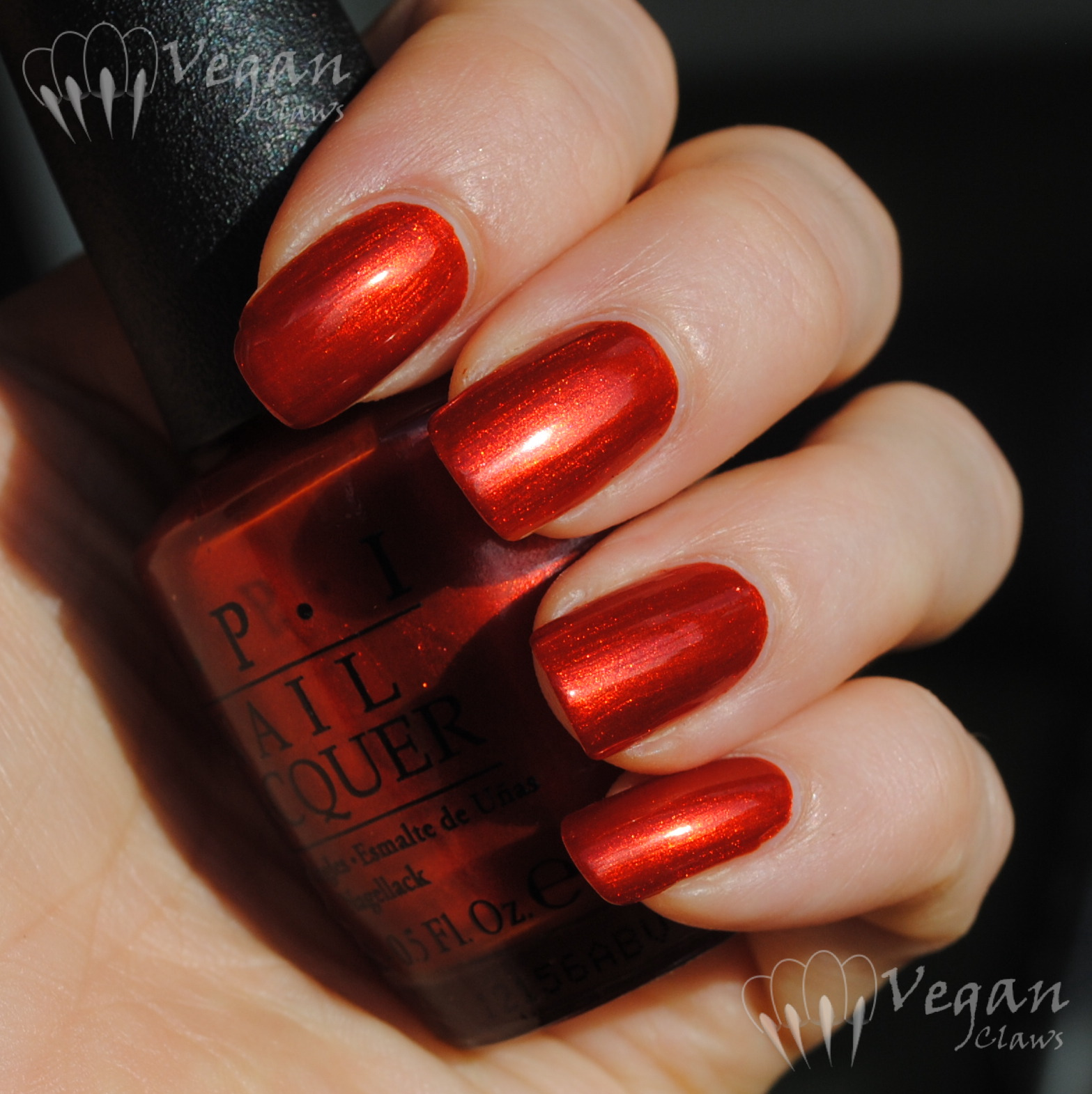 OPI Deutsch You Want Me Baby and comparison to Orly Flicker | Vegan ...