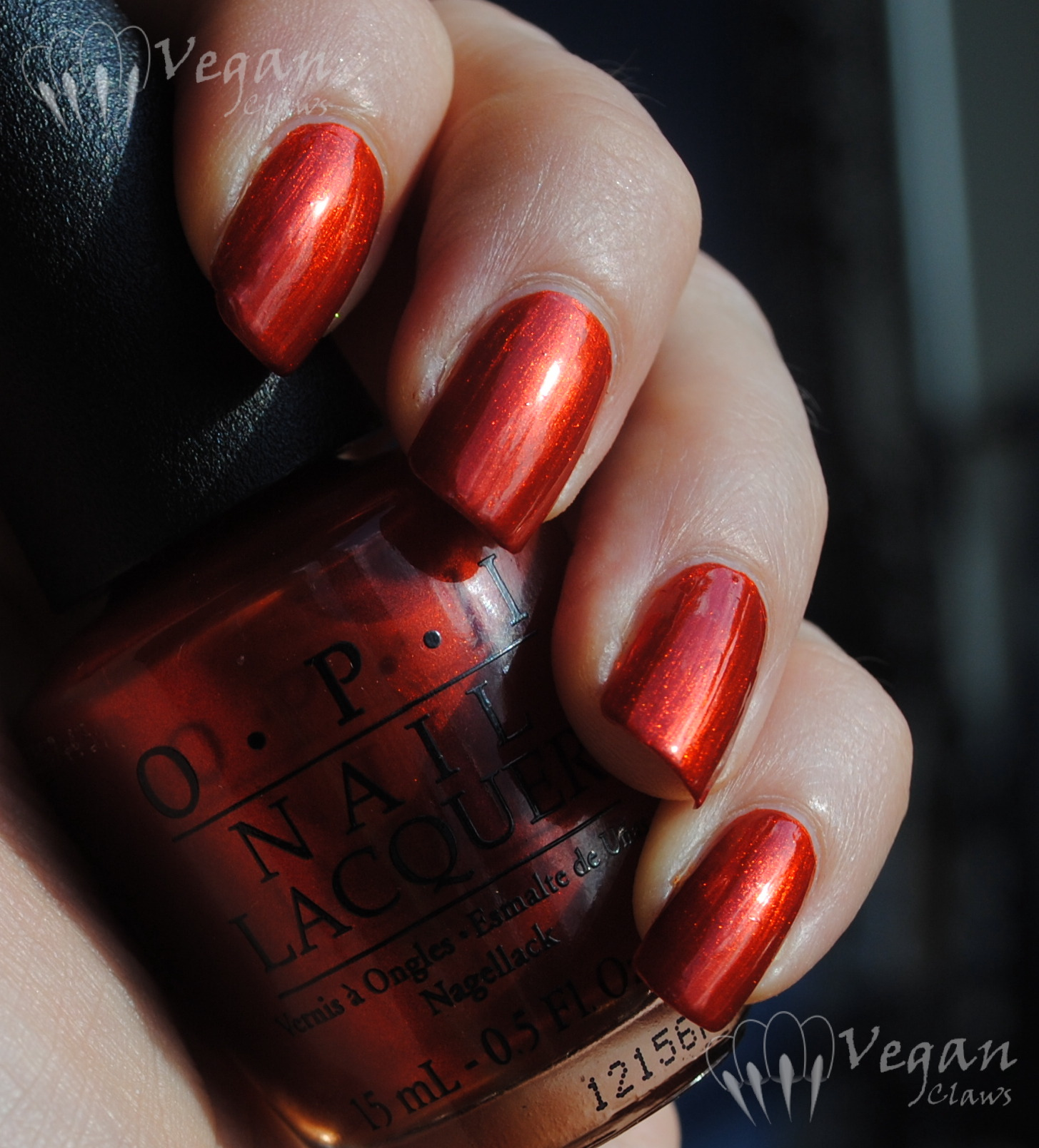 Opi Deutsch You Want Me Baby And Comparison To Orly
