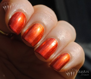 OPI Deutsch You Want Me Baby and Orly Flicker