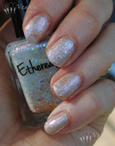 Ruby White Tips Ethereal