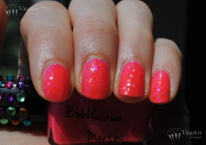 Ruby White Tips Bubblegum Martini