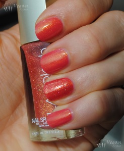 Ninja Polish Pacific Coral and LA Splash Star Coral