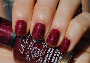 LA Girl Sparkle Ruby