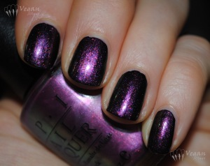 OPI Movin' Out over black