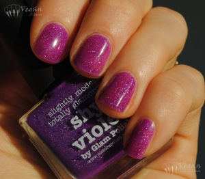 Picture Polish Shy Violet, one coat