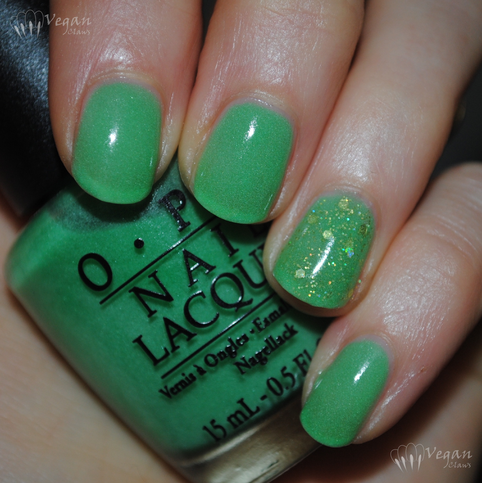 OPI Zom-body to Love and LA Girl Synergy | Vegan Claws