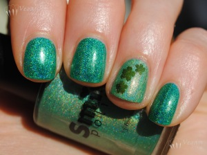 Smitten Polish Claddagh and Shamrock Shake