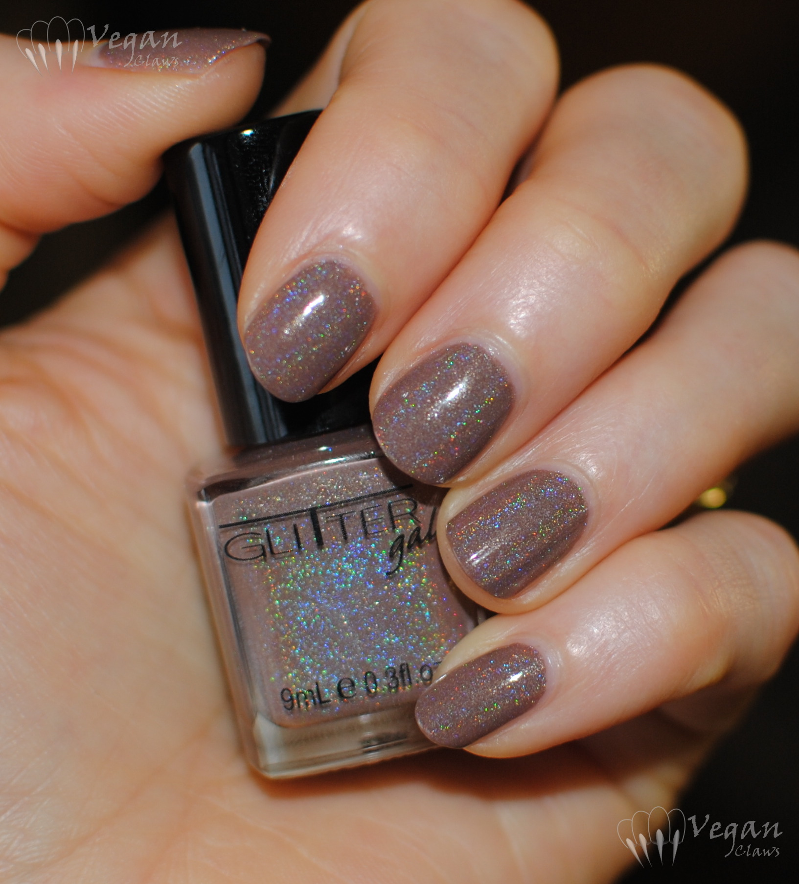 Glitter Gal Suede and stamped accents | Vegan Claws