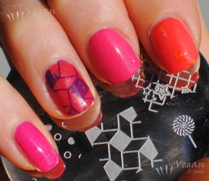 blackdahlialacquer_dandelionexplosion_strawberryfields_bloomingsunflowers_rosepetals_stamping